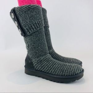 UGG Womens Purl Cardy Knit Boot 1094949 NEW
